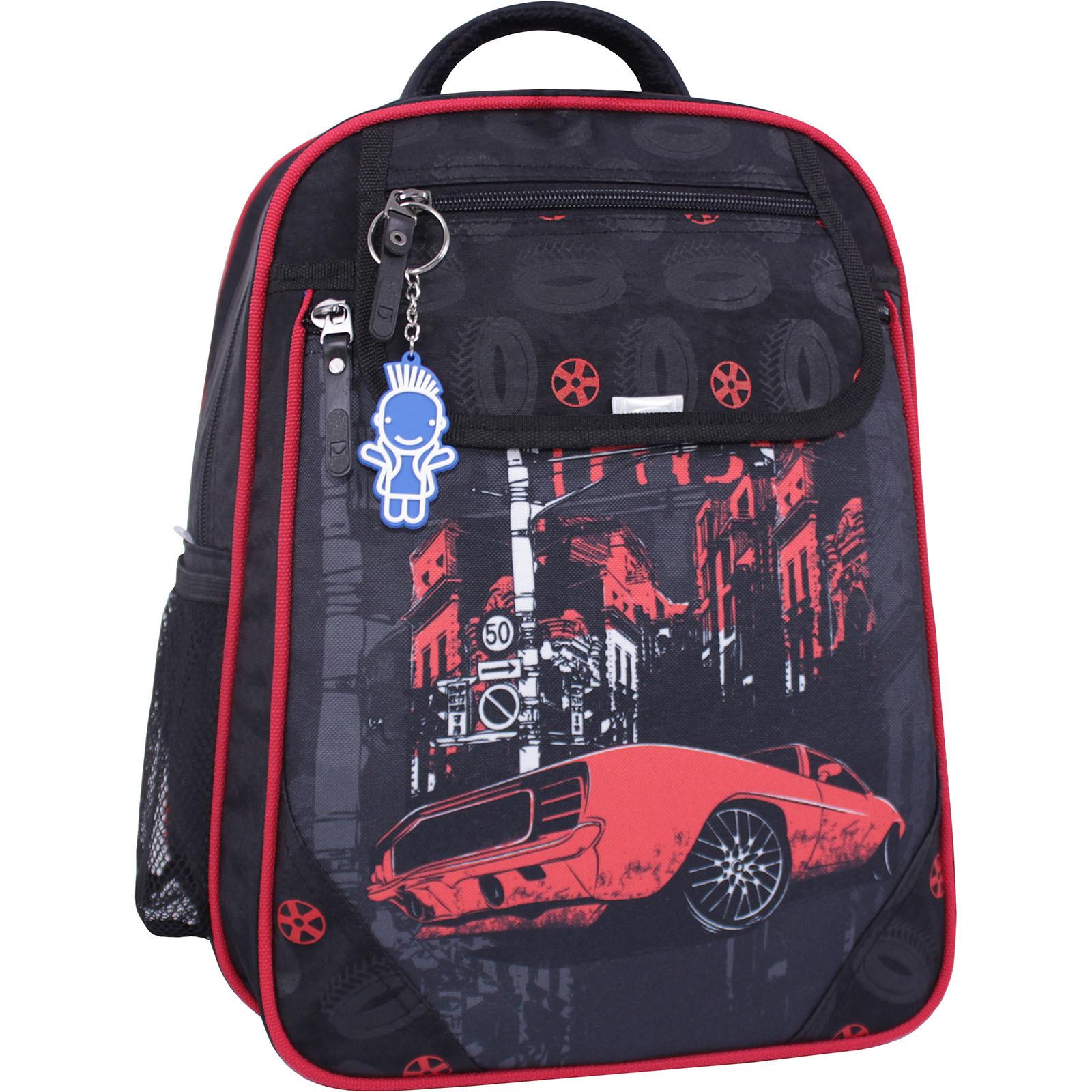 Детские рюкзаки Рюкзак школьный Bagland Отличник 20 л. черный 568 (0058070) IMG_1205_суб.568_.JPG