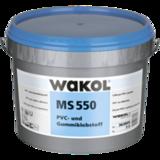 WAKOL MS 550 (7,5 кг) клей для ПВХ и резиновых покрытий  (MS полимеры) Германия