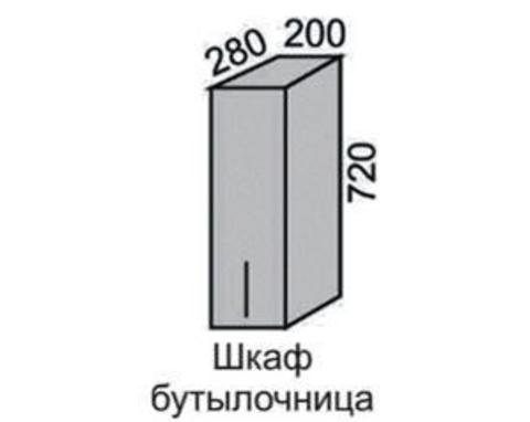 Шкаф МАДЕНА ВШ-20