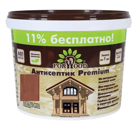 Forwood антисептик лессирующий вд-пф 1601 на льняном масле цвет орех 3л.