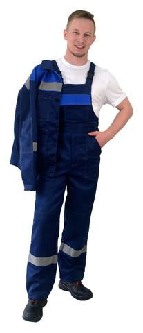 Костюм Легион куртка, п/к темно-синий с васильком