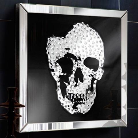 Зеркало Skhull 60x60