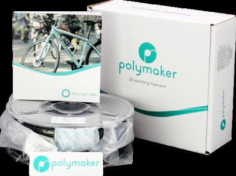 PolyMaker PolyLite ABS, 1.75 мм, 1 кг, Черный
