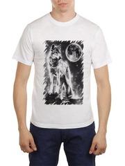 461493-20 футболка мужская, белая