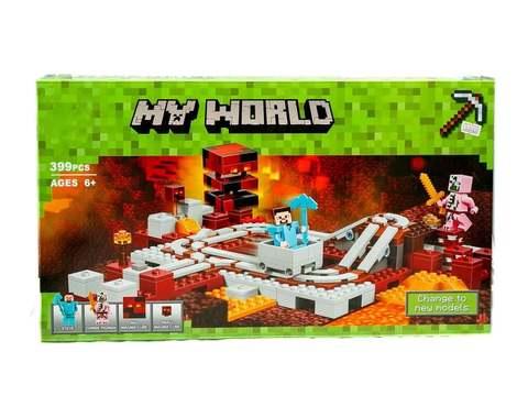 Конструктор My World 10620 Подземная железная дорога