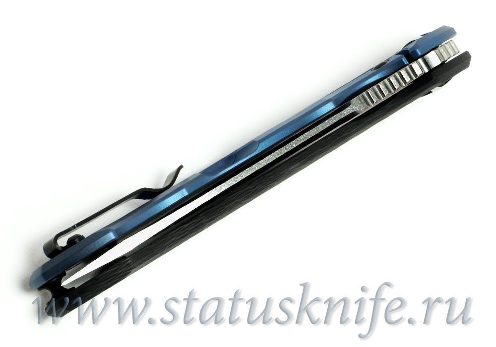 Нож Zero Tolerance ZT 0452CF М390 BLU - фотография