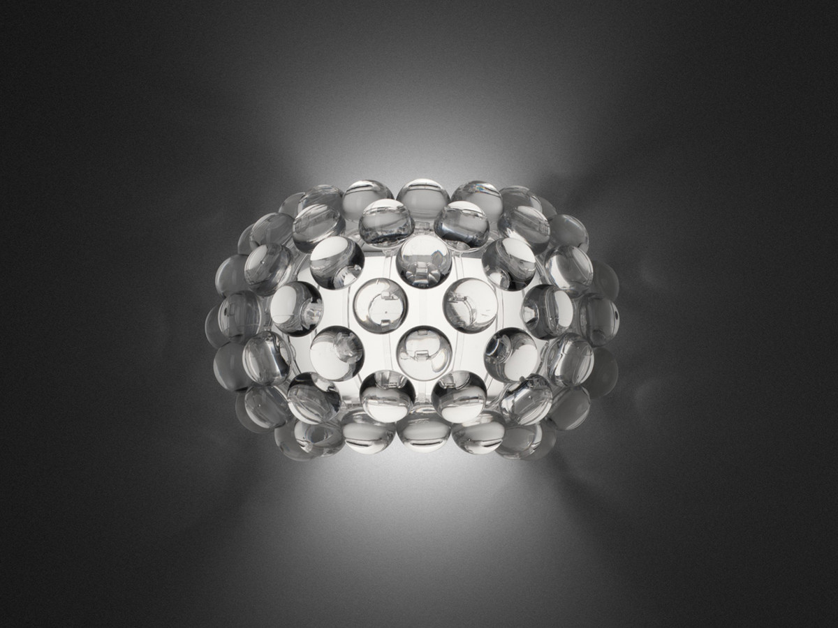 Настенный светильник копия CABOCHE piccola by Foscarini (прозрачный)
