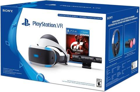 Sony PlayStation VR ( Playstation Camera + GT Sport Bundle)– шлем виртуальной реальности