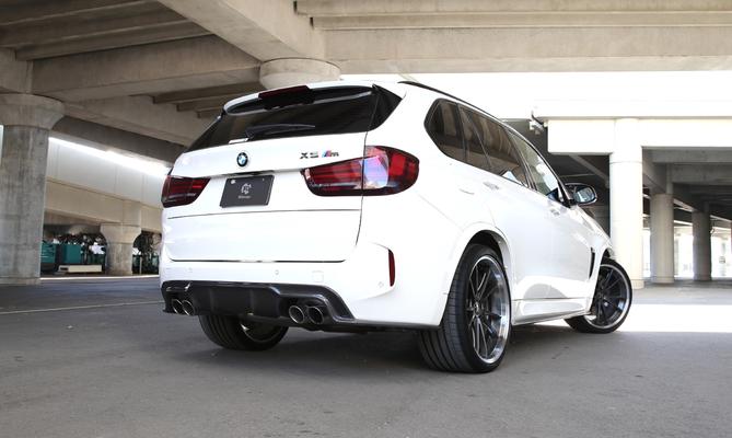 Карбоновый диффузор  для BMW X6M F86