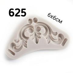0625 Молд силиконовый Орнамент уголок