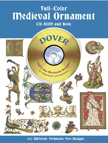 9780486995458 - Full-Color Medieval Ornament CD-ROM and Book