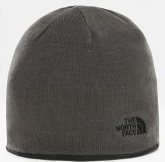 Шапка двухсторонняя The North Face Reversible Tnf Banner Beanie черный/серый - 2