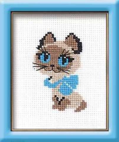 Набор для вышивания крестом «Котёнок» (462)