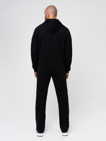 Спортивный костюм «Мастер» чёрного цвета