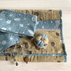 Комплект. Накидка, игольница и защитные чехлы для рам 90 см