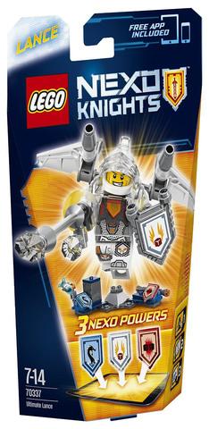 LEGO Nexo Knights: Ланс — Абсолютная сила 70337 — Ultimate Lance — Лего Нексо Рыцари