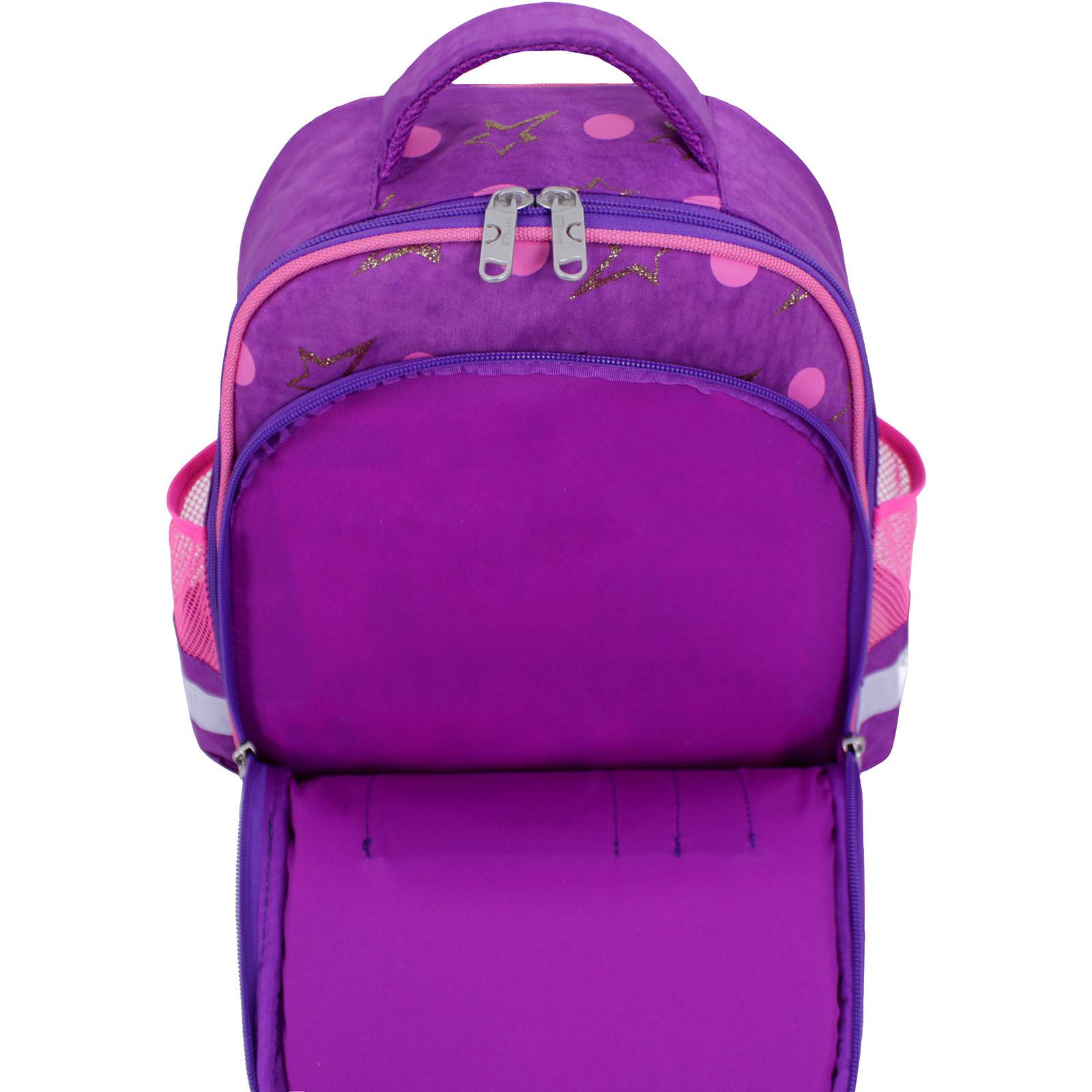 Рюкзак школьный Bagland Mouse 339 фиолетовый 428 (0051370) фото 4