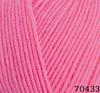 Пряжа Himalaya Everyday Bebe Lux 70433 (ярко-розовый)