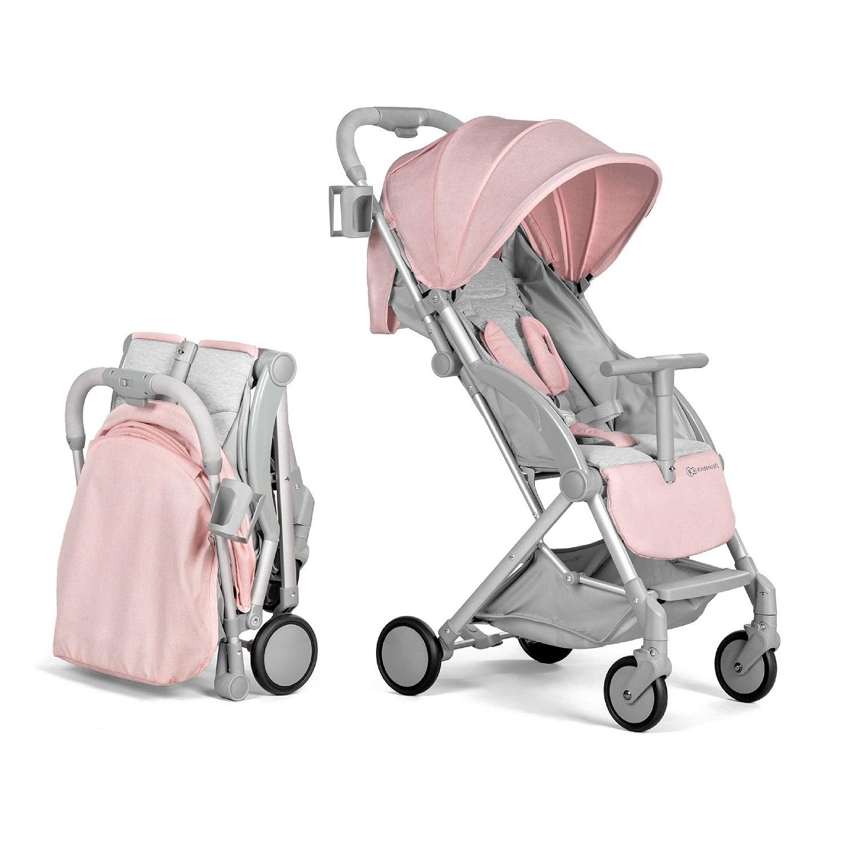 Прогулочная коляска Kinderkraft Pilot Pink