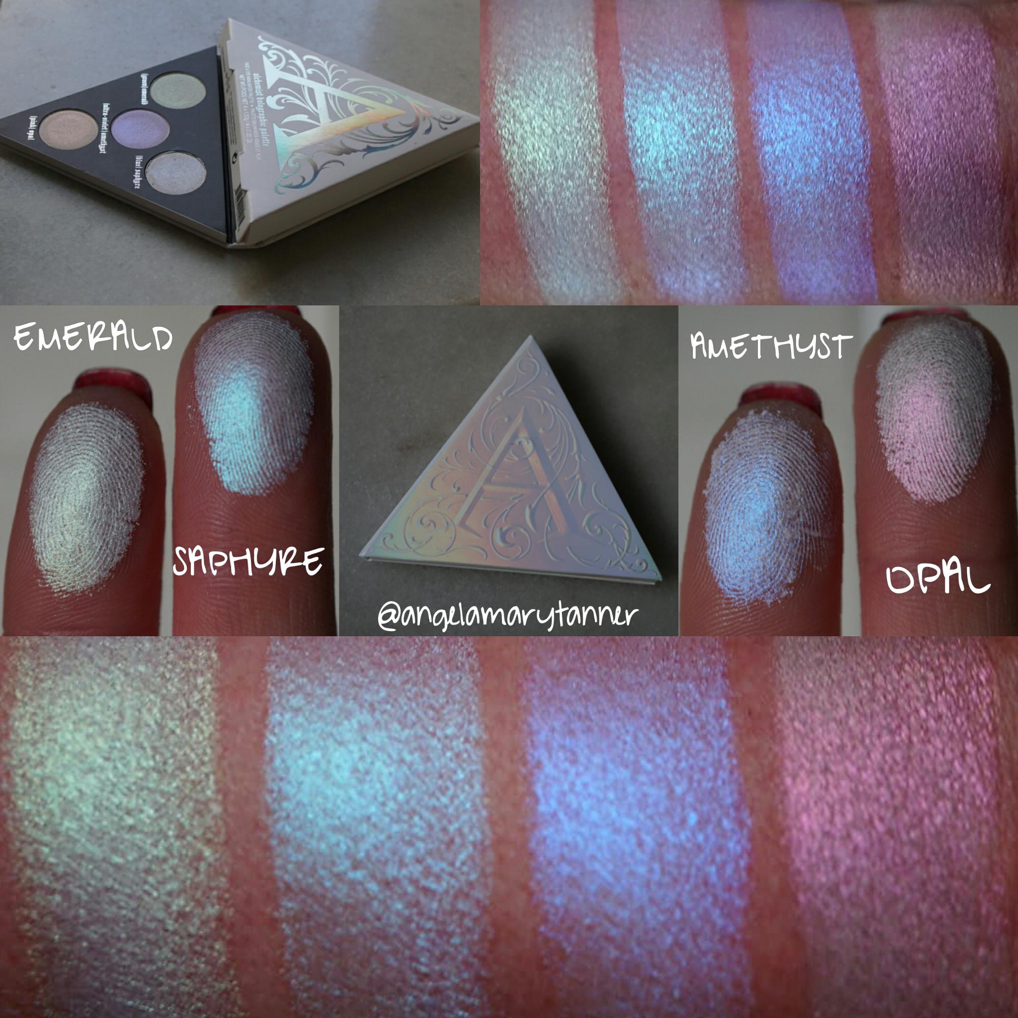 Kat Von D Alchemist Holographic Highlighter palette