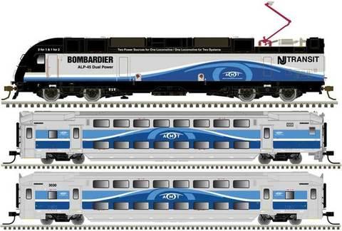 Atlas Региональный Поезд (Montreal AMT)