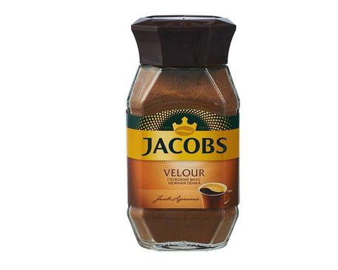 Кофе растворимый Jacobs Velour с пенкой, 95 г