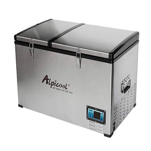 Компрессорный автохолодильник Alpicool BCD125 (Двухкамерный, 12V/24V/220V, 125л)