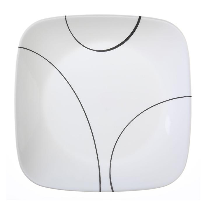 Тарелка закусочная 22 см Simple Lines, артикул 1069985, производитель - Corelle