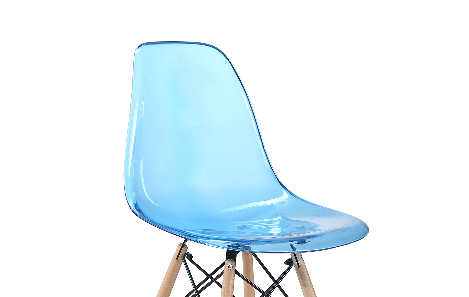 Стул ESF PW071PC blue (синий) в стиле EAMES синий