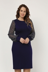 Платье Альбина синий