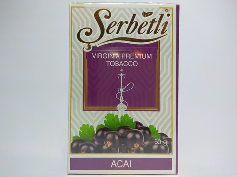 Табак для кальяна SERBETLI Acai 50gr