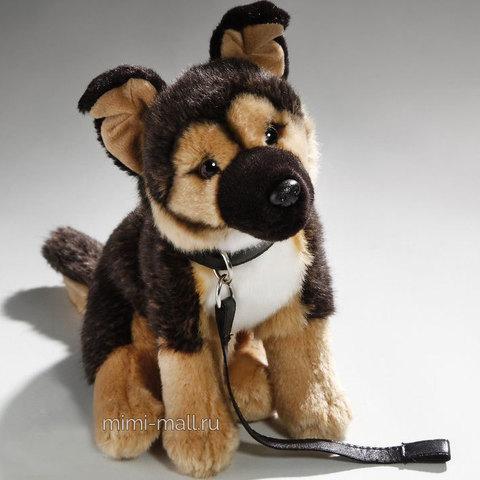 Мягкая игрушка Овчарка сидящая 25 см (Leosco)