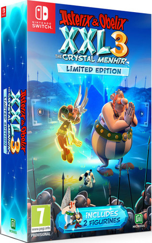 Asterix&Obelix XXL 3 - The Crystal Menhir Limited Edition (Nintendo Switch, русская версия)