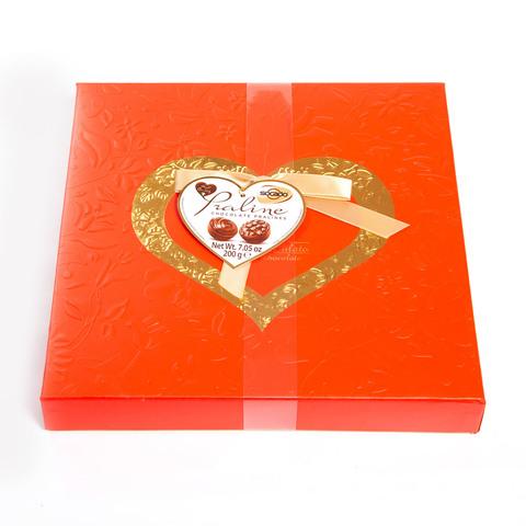 Подарочный набор конфет Романтика, 200 гр
