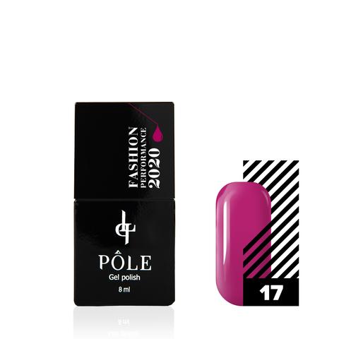 Гель-лак POLE Fashion Performance 2020 №17 Beetroot Purple (8 мл.)
