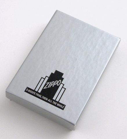 Зажигалка Zippo (1941Replica) с покрытием Black Ice, латунь/сталь, чёрная, глянцевая, 36x12123