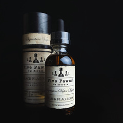 Five Pawns Black Flag Risen