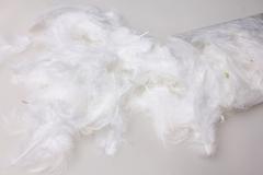Перья белые в пакете 10гр