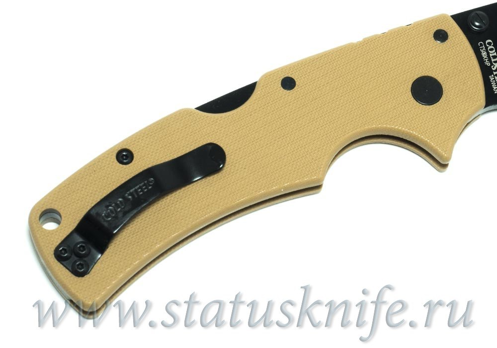 Нож Cold Steel 58ALVB American Lawman CTS-XHP Coyote Tan - фотография