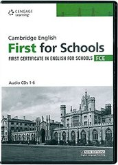 Cambridge FCE For Schools Pract Tests CD(x2)
