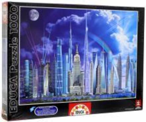 Puzzle Tall Buildings 1000 pcs