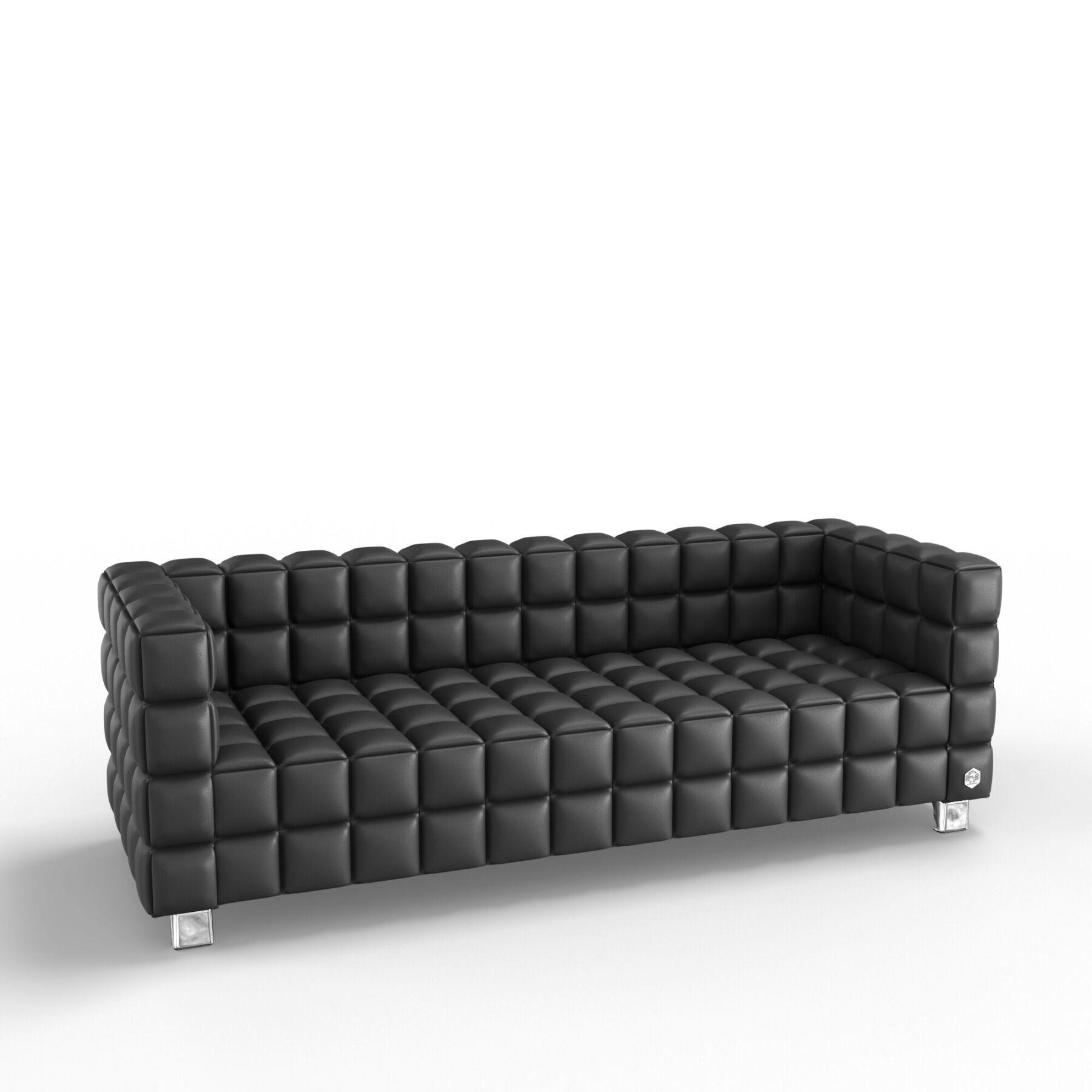 Трехместный диван KULIK SYSTEM NEXUS Кожа 3
