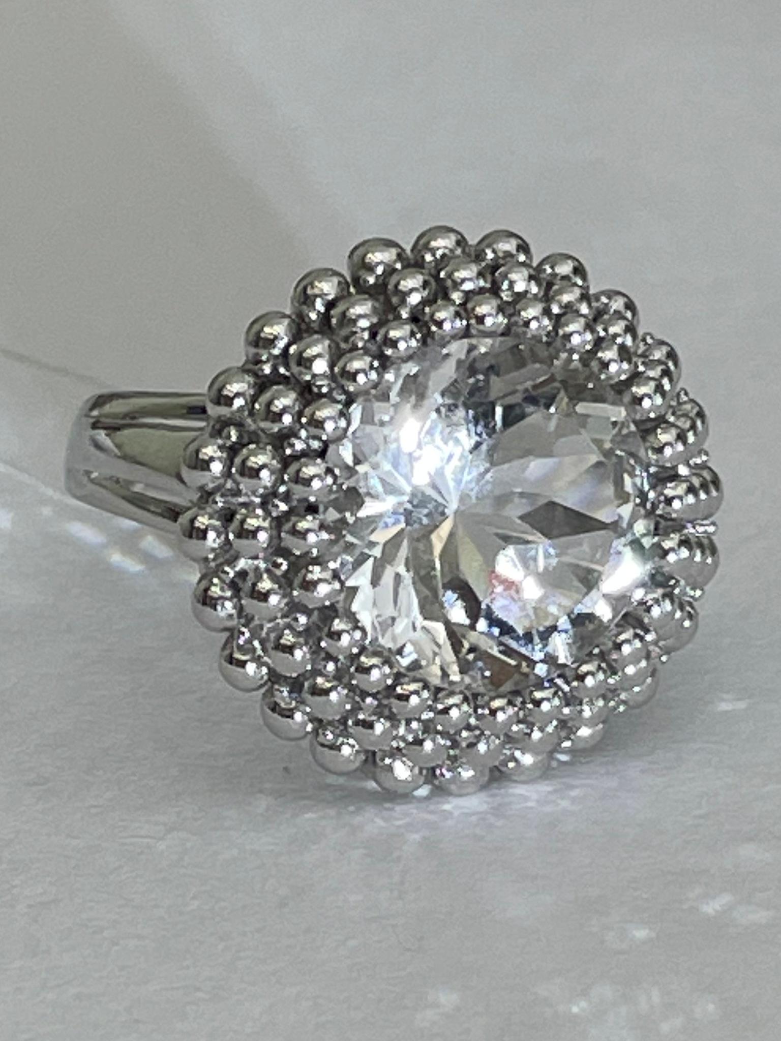 Горн.хрусталь R4а (кольцо из серебра)