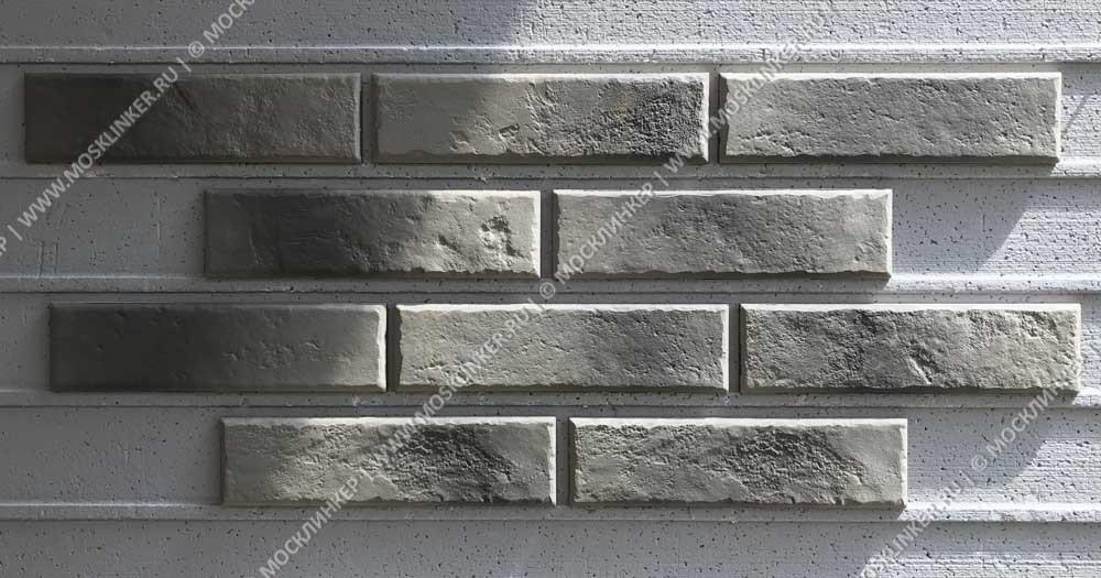 Cerrad Old Castle, Grey - Клинкерная плитка для фасада и внутренней отделки