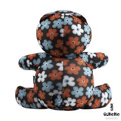 Подушка-игрушка антистресс Gekoko «Цветочный Мишка» 7