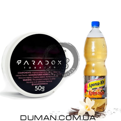 Табак Paradox Cream Soda (Парадокс Крем Сода) | 50g