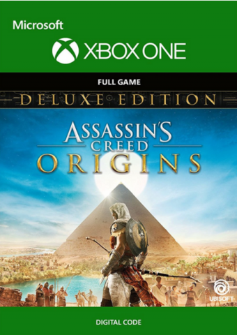 Assassin's Creed: Истоки (Origins). Deluxe Edition (Xbox One/Series S/X, цифровой ключ, русская версия)