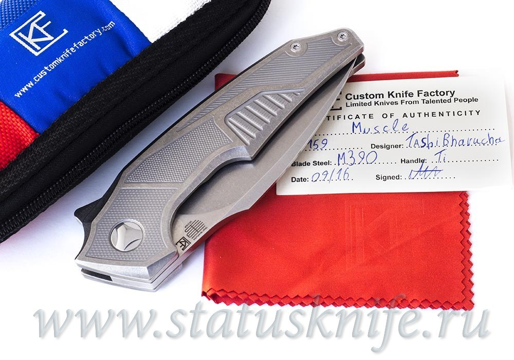Нож Muscle SW CKF and Tashi Bharucha Limited