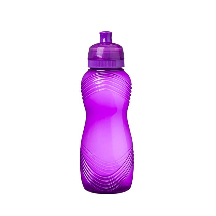 """Бутылка для воды Sistema """"Hydrate"""" 600 мл, цвет Фиолетовый"""