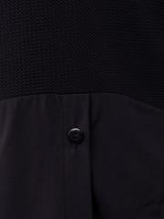 Аника. Стильная кофточка для женщин size plus. Черный.